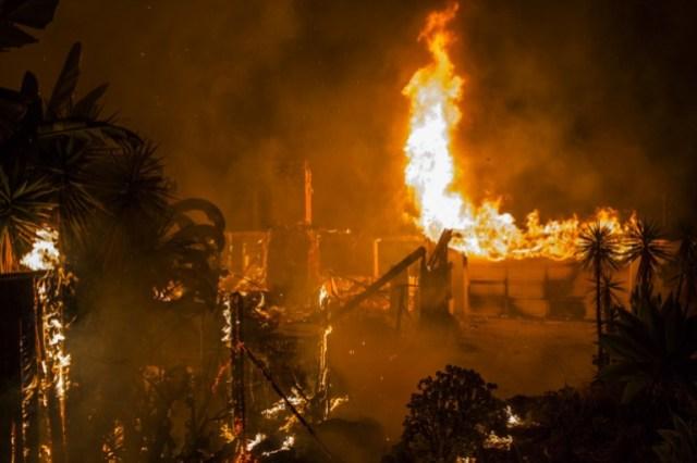 Incendio del norte de California ya es el más destructivo de su historia