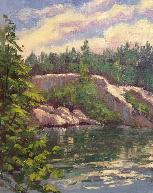 A Painter's Journey: Recent landscape paintings of the