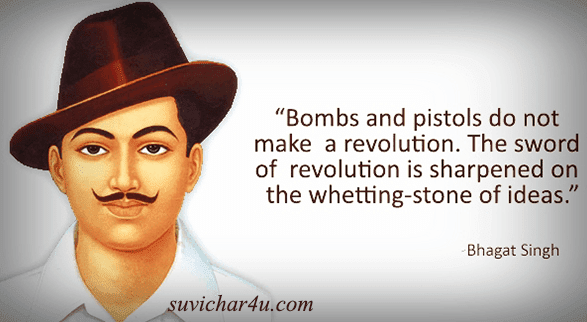 Bombs and Pistols do not make a revolution.