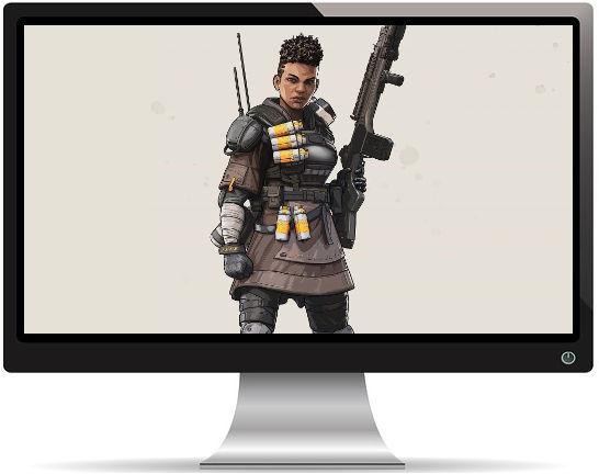 Apex Legends Bangalore Artwork - Fond d'écran en Full HD 1080p