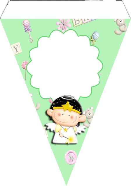 Banderines para Imprimir Gratis de Bebés.
