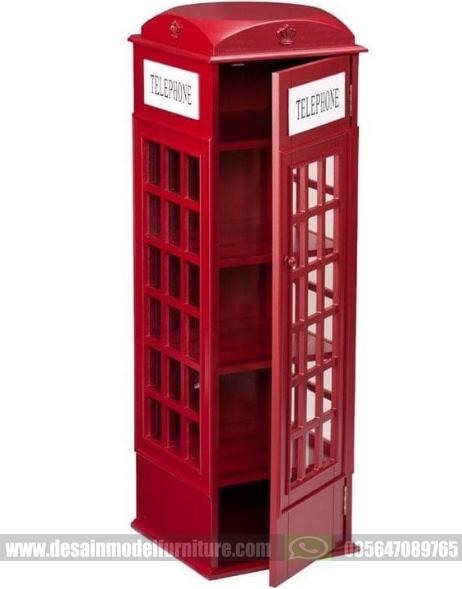 Harga lemari telephone inggris model unik