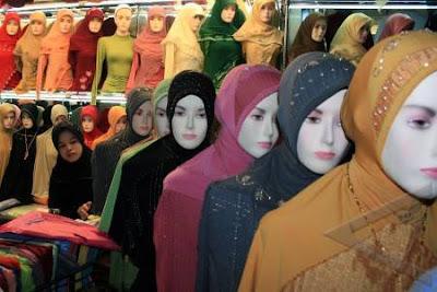 Membeli Jilbab Secara Online
