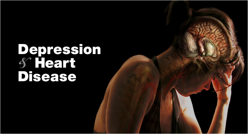 What Does Depression Have To Do With Heart Disease? -- More Than You Think!
