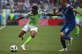 Ahmed Musa's first goal