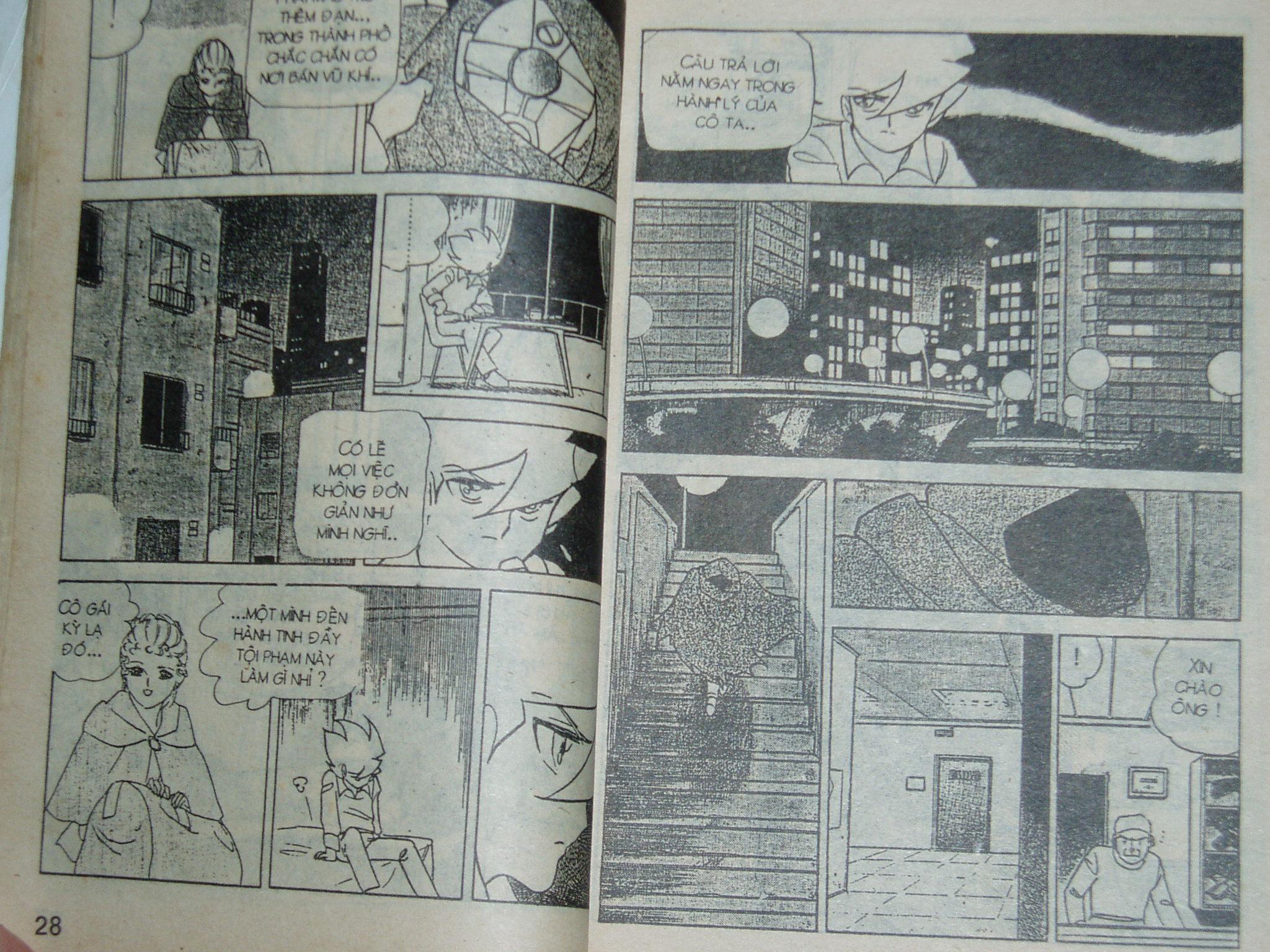 Siêu nhân Locke vol 16 trang 13