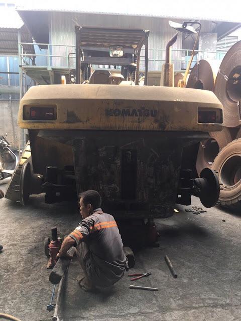 sửa chữa xe nâng tại bình dương