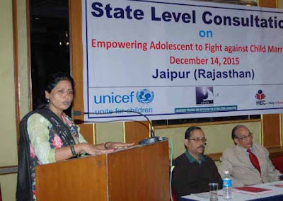 Suman Sharma Jaipur, Chairperson of State Women Commission Rajasthan, Stop Child Marriage, child marriage in our society, Jaipur, Rajasthan