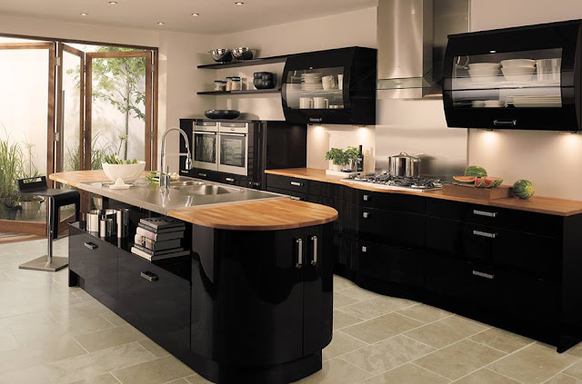 Mesmerizing Kitchen Remodeling Ideas With Classic Island And Cabinets Near Traditional Dining Room