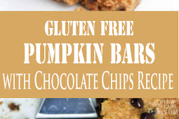 Gluten Free Pumpkin Bars with Chocolate Chips Recipe