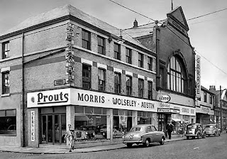 Prouts garage on Breck Road, Liverpool