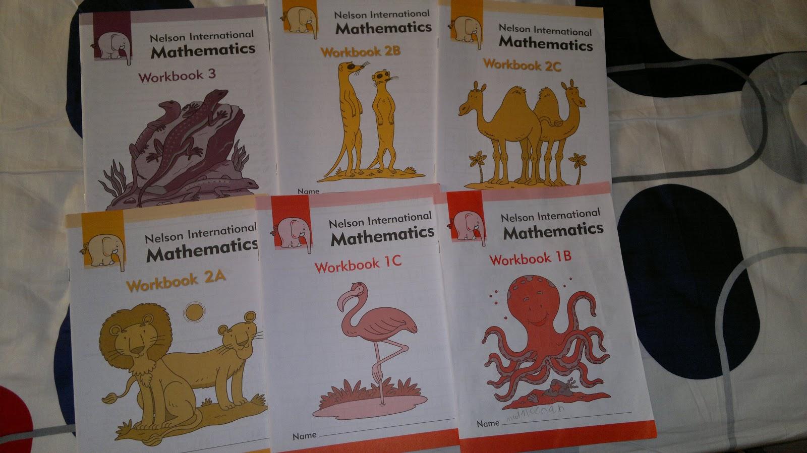 Workbooks nelson math 8 workbook : Umm Maimoonah's Journal: Mathematics so far!