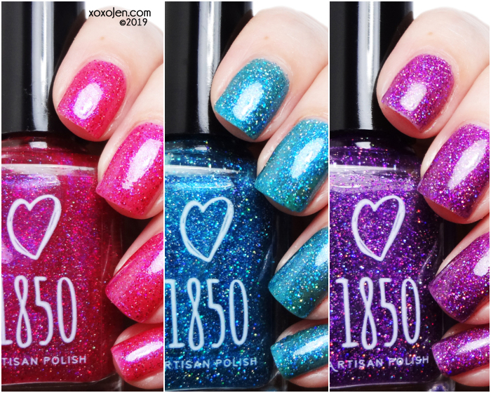 xoxoJen's swatch of 1850 Artisan Glitter Princess
