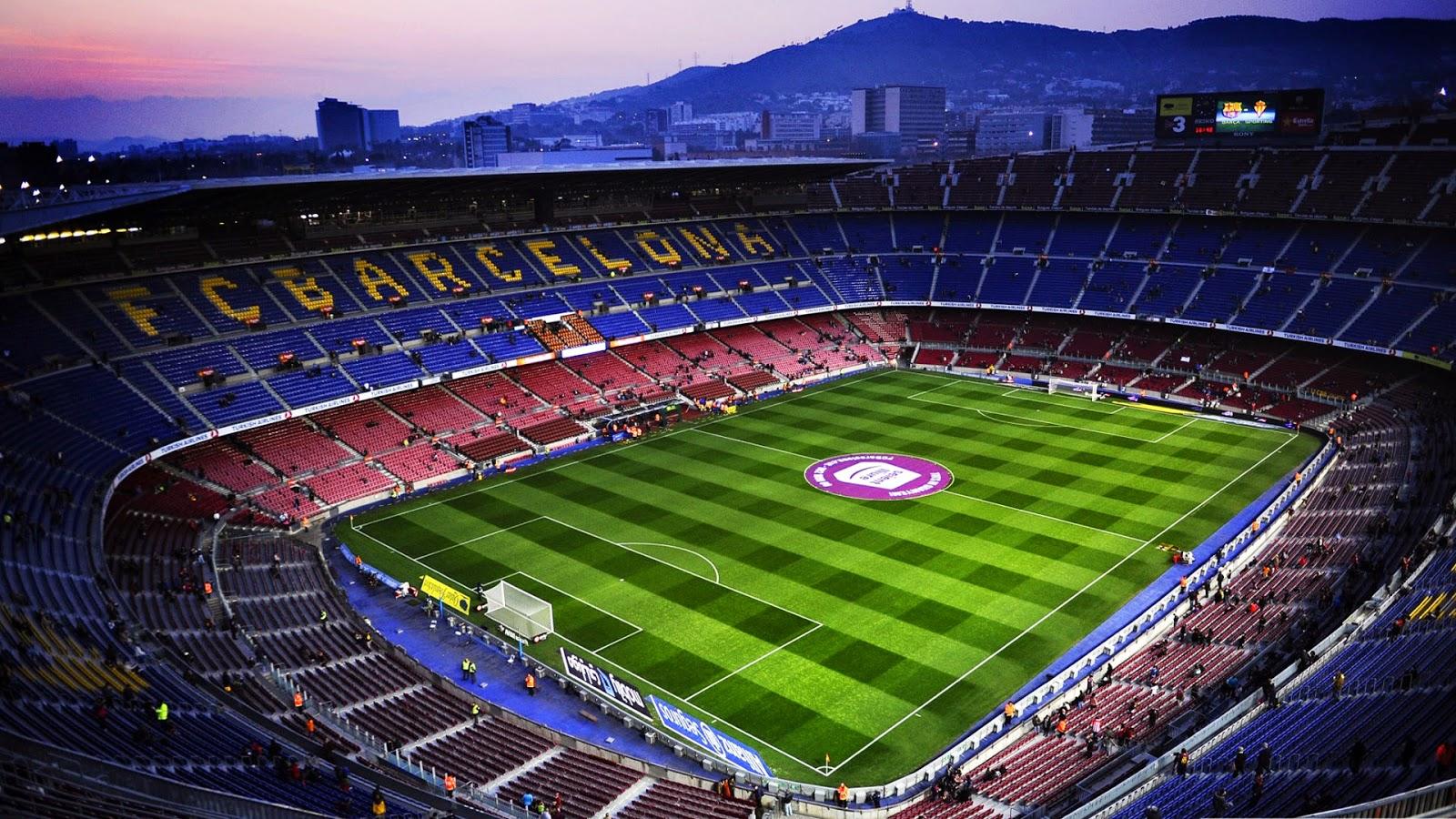 Stadium camp nou Barce...
