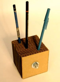 Cara Bikin Box Pulpen / Pensil dari kardus