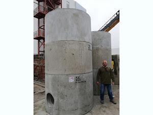 Buzones modulares de concretos