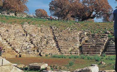 The ancient theatres of western Greece