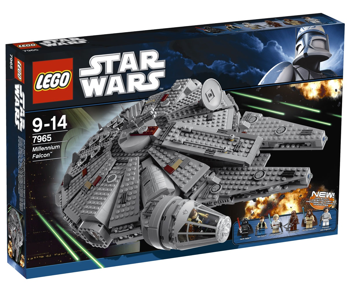 REPUBbLICk: LEGO set database: 7965 millennium falcon