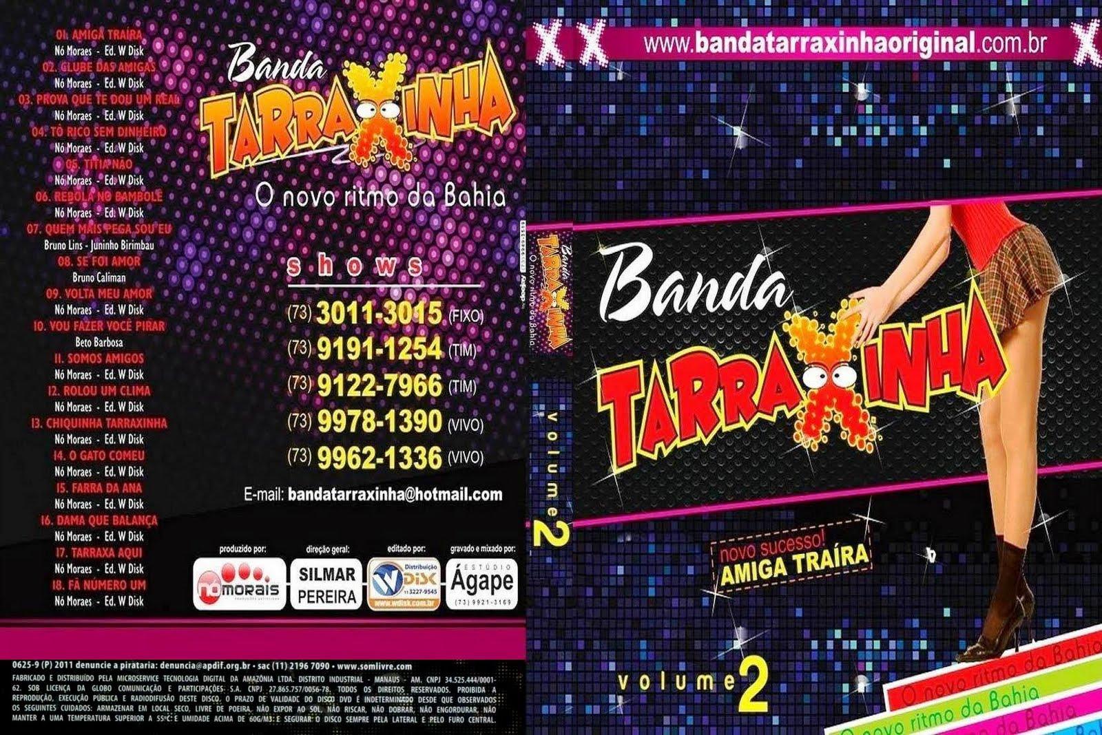 dvd banda tarraxinha 2011