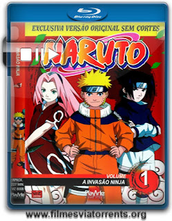 Naruto 1ª Temporada Torrent - BluRay Rip