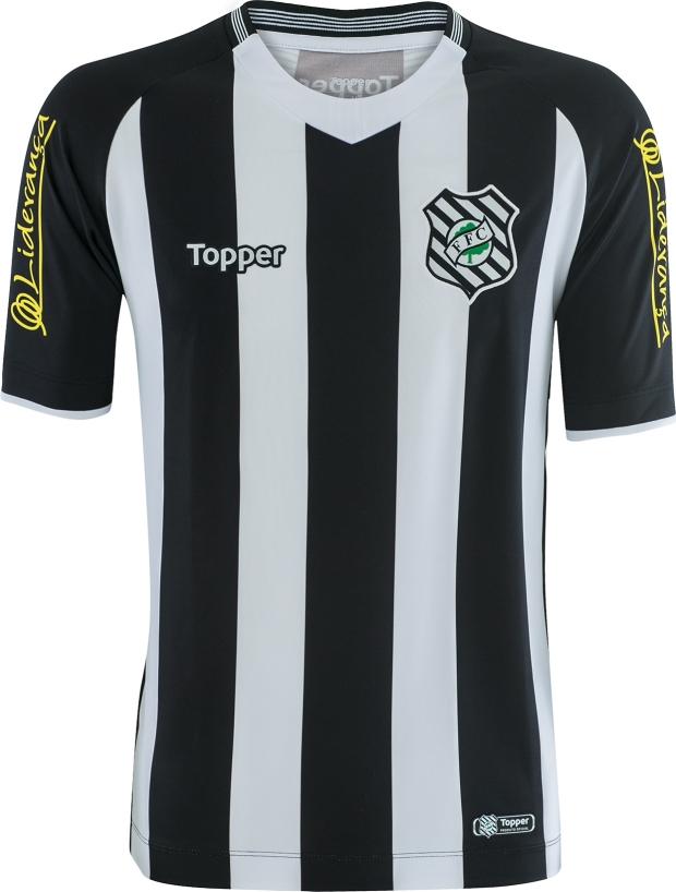 ae0912a446 Topper divulga as novas camisas do Figueirense - Show de Camisas