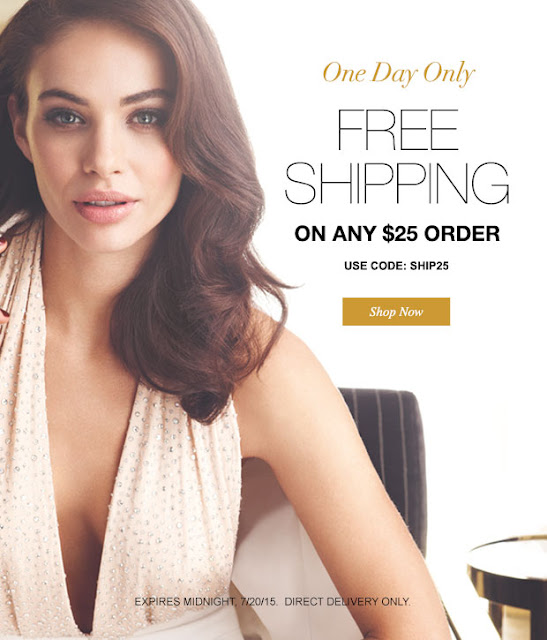 Avon Free Shipping on $25 - July 2015
