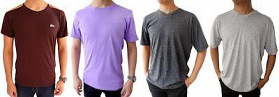 Cara Memilih Warna Baju Kaos Yang Cocok Dengan Warna Kulit