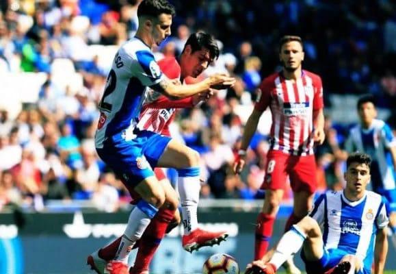 اسانيول يلحق اتليتيكو مدريد بهزيمة قاسية