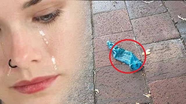 Peringatan Bagi Orang Tua !! Tiup Balon  yang Dipungut di Jalan, Nasib Anak Wanita Ini Pun Jadi Sangat Mengerikan !!