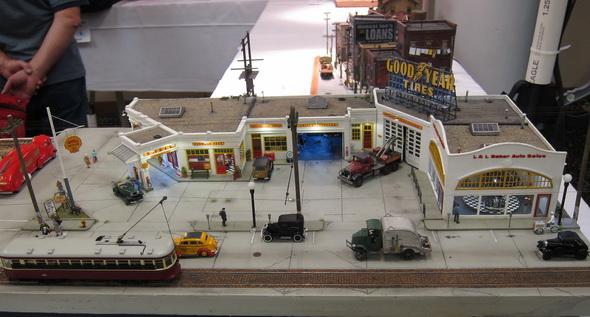 Gas Station Ho Scale Dioramas