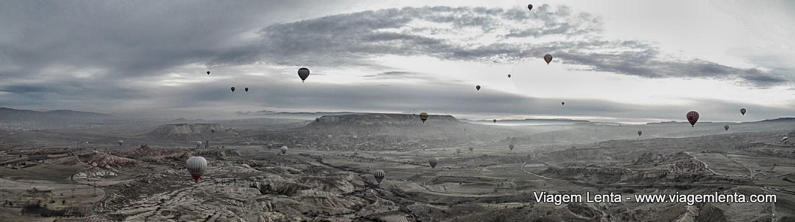 Relato de viagem à Capadócia, com estadia em Goreme, na Turquia e passeio de balão, visitas à cidade subterrânea de Derinkuyu, hiking no Ihlara Valley...