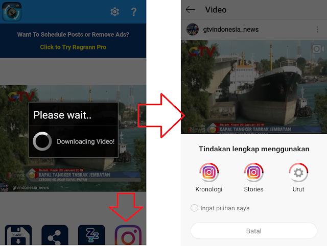 5 Langkah Cara Repost Instagram Dengan Mudah