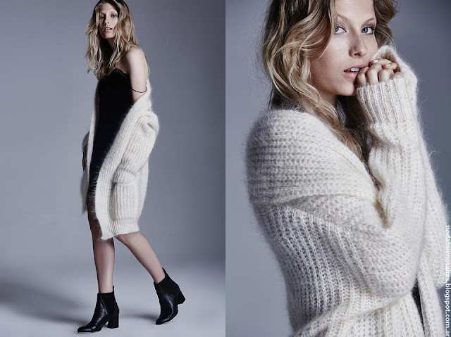 Sacos de mujer moda invierno 2016 Delucca.
