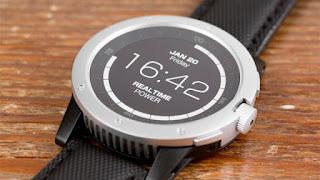un reloj inteligente que se podra cargar con el calor corporal del usuario.
