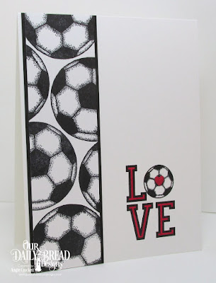 ODBD Soccer Stamp/Die Duos, ODBD Custom Umbrellas Dies, Card Designer Angie Crockett
