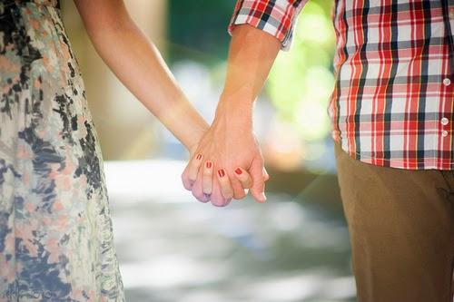 Couple Walking Hand in Hand
