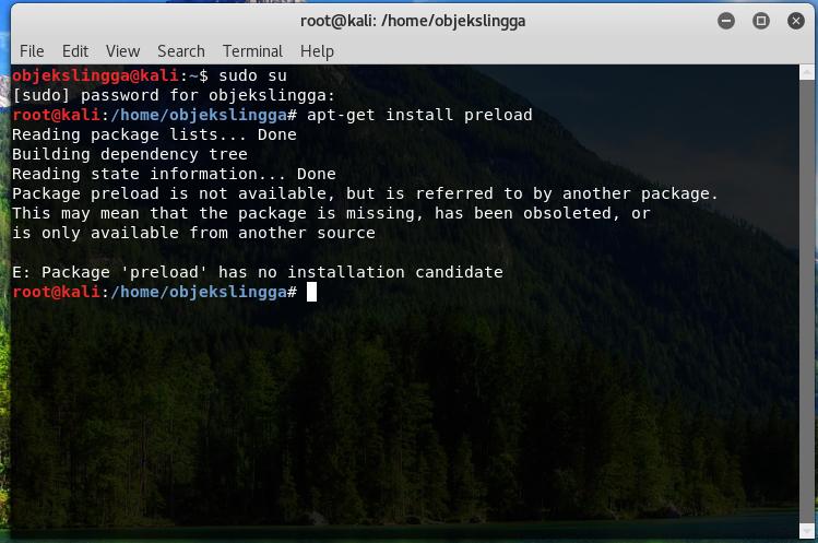 Cara install preload di Linux