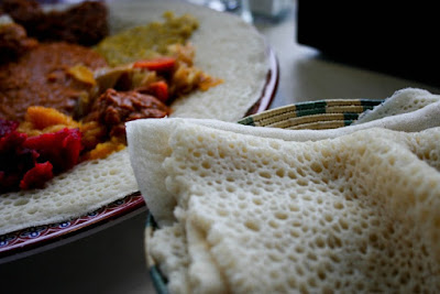 Injera Sourdough Flatbread Recipe
