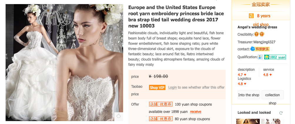 How I Taobao-ed my wedding gown (and why it may make more sense to ...