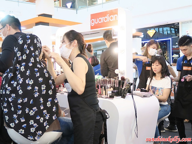 Confidence Creation, Guardian Makeover 2016, IOI City Mall, makeup, hair styling, makeover photo shoot