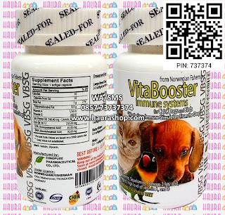 VBSG - VitaBooster Immune System atau VBSG / VB Sofgel adalah suplemen yang sangat dibutuhkan untuk burung dan hewan