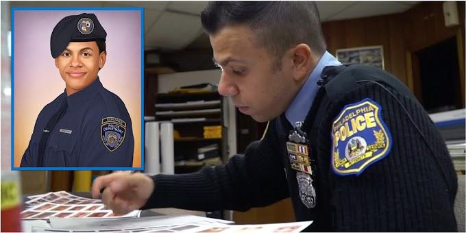 Dibujante de la policía de Filadelfia crea retrato en honor al sueño de detective de estudiante dominicano asesinado en El Bronx