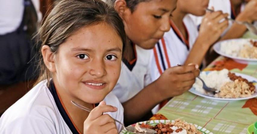 Qali Warma ampliará la variedad de menús para desayunos y almuerzos escolares en el 2019 - www.qaliwarma.gob.pe