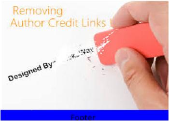 cara menghapus credit link template