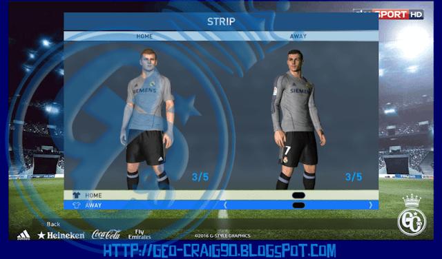 low priced cf76d 3fee1 Real Madrid Kit Season 2005-2006 HD - PES 2017 - PATCH PES ...