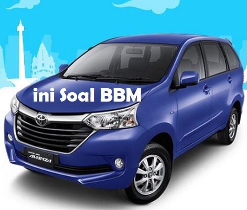 Komparasi BBM Toyota Avanza Matic dan Manual