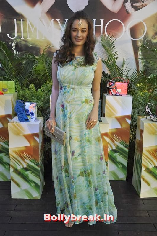 , Evelyn Sharma, Lisa Haydon & Sophie Choudry Spotted at Jimmy Choo's Women's Day Celebrations