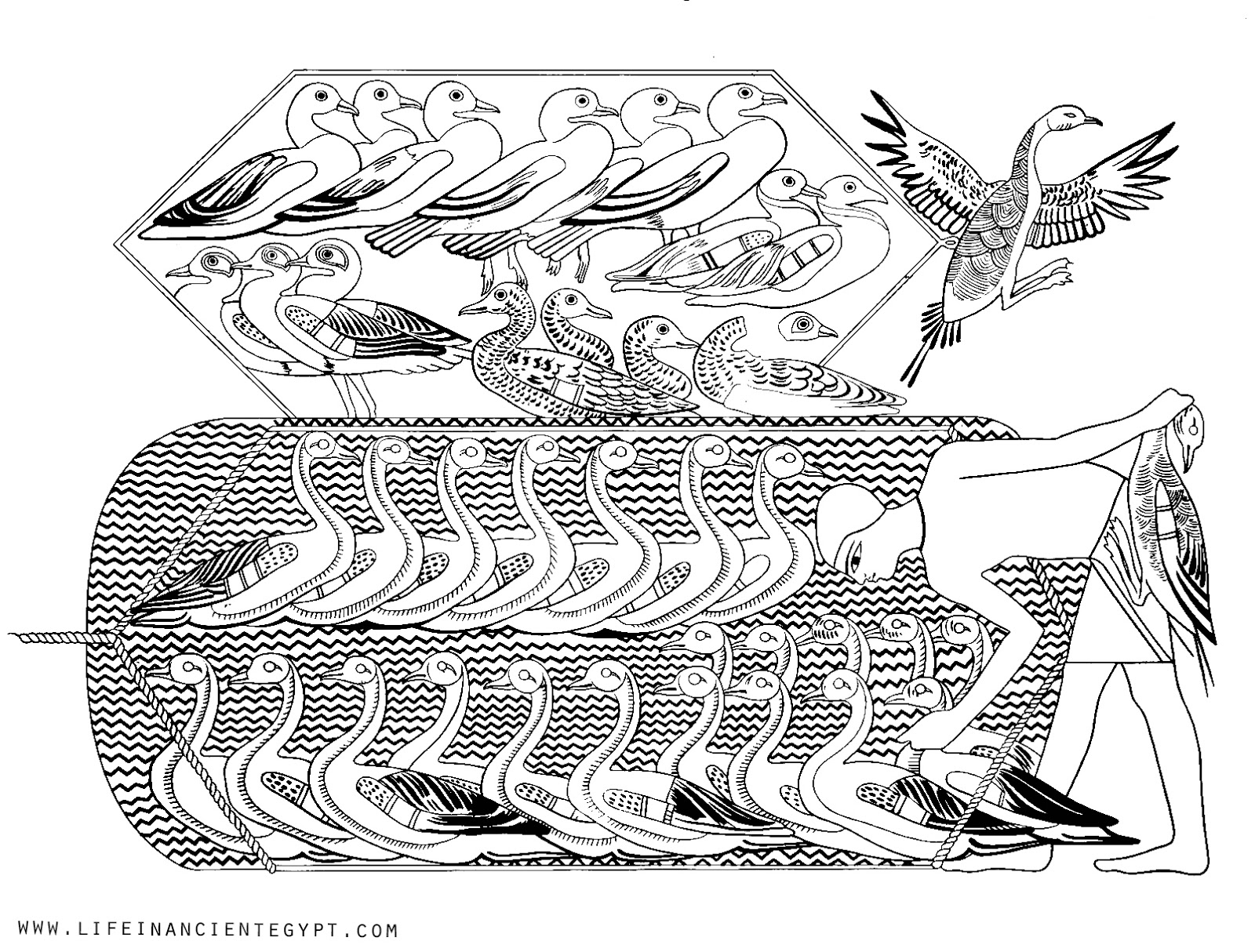 Top 10 Ancient Egypt Coloring Pages For Toddlers | 1214x1600