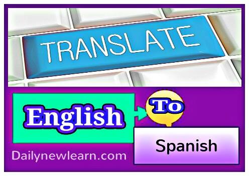 English to spanish translator free online