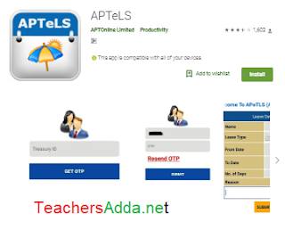 APTeLS App Updated with OD Facility Entering Option by Teachers